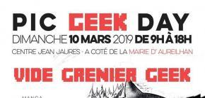 Vide Grenier Geek - PIC Geek Day