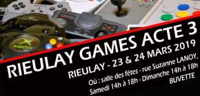 Festival Rieulay Games Acte 3
