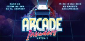 Arcade Invaders - level 1