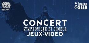 Concert Symphonique et choeur jeux vidéo No Limit Orchestra
