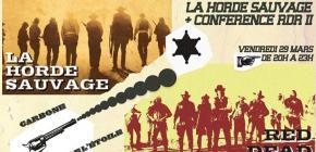 Mathieu Triclot - conférence Red Dead Redemption II et projection du film La Horde Sauvage