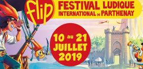 FLIP 2019 - 34ème édition du Festival Ludique International de Parthenay