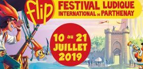 FLIP 2019 - 34ème édition du Festival Ludique International de Parthenay