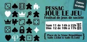 Pessac Joue le Jeu - Festival de jeux de société