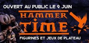 Hammer Time 2019 - figurines et jeux de plateaux