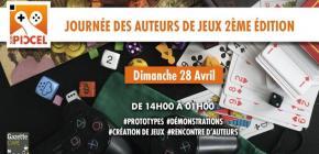 Journée des Auteurs de Jeux : 2eme édition