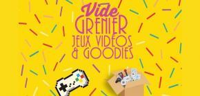 Vide greniers Jeux Vidéo et Goodies de la Nantes Accoord Games Week 2019