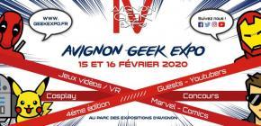 Avignon Geek Expo 2020 - 4ème édition