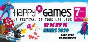 Happy'Games 2020 - 7ème édition du Festival de tous les jeux