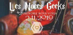 Les Noces Geeks 2019 - salon mariage geek