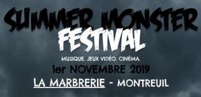 Summer Monster Festival - musique, jeux vidéo et cinéma
