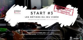 Start #3 les métiers du jeu vidéo - 3ème édition