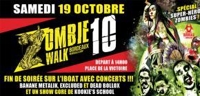Zombie Walk Bordeaux 2019 - 10ème Edition de la marche des zombies bordelais