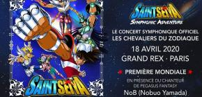 Saint Seiya Symphonic Adventure - Paris World Premiere