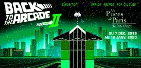 Back to The Arcade II - exposition vente 2019