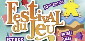Festival du jeu de la ville d'Istres 2020 - 10ème édition