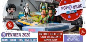 Pop'n Broc, édition 2020 de la brocante geek de Sommervieu