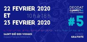 Déodat Connect 2020 - Salon du numérique 5ème édition