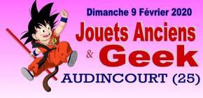 Salon Jouets Anciens et Vide Greniers du Geek Audincourt