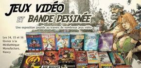 BD et jeux vidéo - Exposition jouable de jeux vidéo