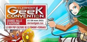 Clermont Geek Convention 2021 - manga et comics