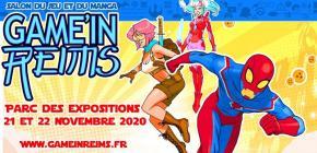 Game'in Reims 2020 - 4ème édition du salon du jeu et du manga