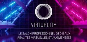 Virtuality 2020 - 4ème édition du salon de la Réalité Virtuelle et des technologies immersives