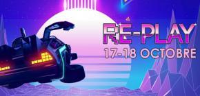 Re-Play 2020 - Bornes d'arcade Flippers et Retrogaming