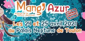 Mang'Azur 2021 - quinzième édition du salon de la culture Japonaise