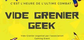 Premier Vide grenier Geek de Blanquefort