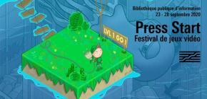 Press Start - édition 2020 du Festival de jeux vidéo à la Bpi