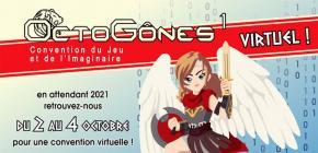 OctoGônes 2020 - 11ème Convention du Jeu et de l'Imaginaire
