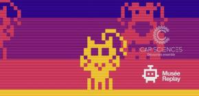 Exposition Retrogaming Cats and Dogs