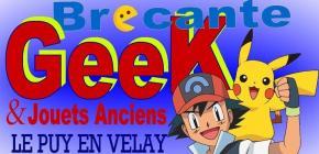 Brocante du geek et des jouets le Puy en Velay