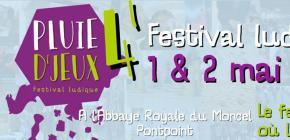 Pluie d'Jeux 2021 - Festival Ludique