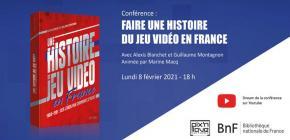 Conférence - Une histoire du jeu vidéo en France à la BnF