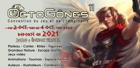 OctoGônes 2021 - 11ème Convention du Jeu et de l'Imaginaire