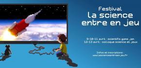 Festival La science entre en jeu - La Scientifique Game Jam