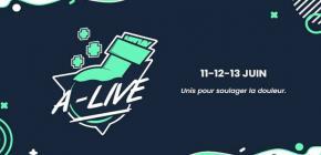 A-Live : Marathon gaming caritatif