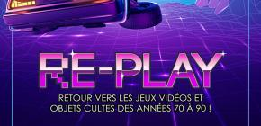Re-Play 2021 - Bornes d'arcade Flippers et Retrogaming