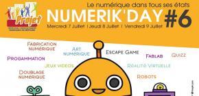 Numerik Day 2021- sixième édition du salon lillois dédié au numérique