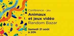Conférence jeu : Animaux et jeux vidéo