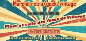 Marché retro-geek-vintage