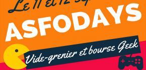 ASFO Days - Vide Grenier et Bourse Geek 2021