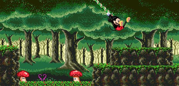 Castle of Illusion Starring Mickey Mouse en HD !