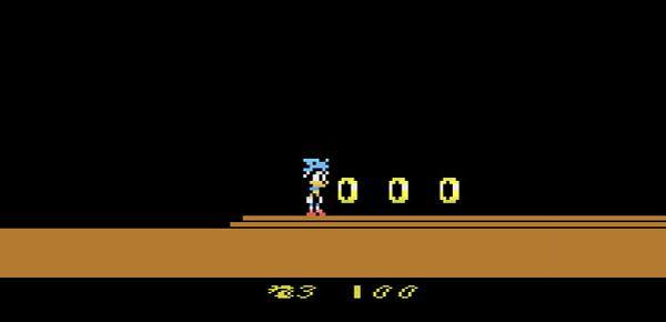 Sonic the Hedgehog sur Atari 2600 par Sprybug