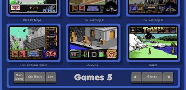 C64 Arcade Launcher - 360 classiques du C64 dans un seul logiciel
