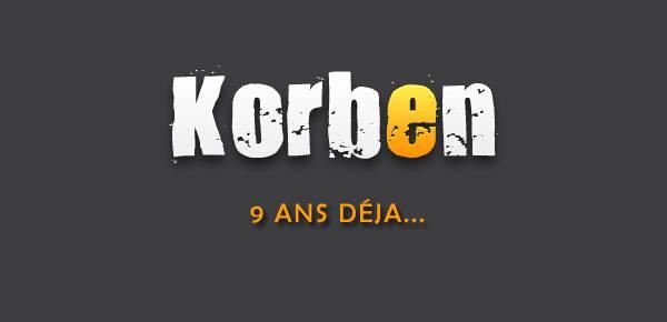 Le blog de Korben a 9 ans déjà