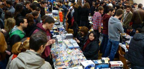 La sixième édition du Vide Grenier du Geek à Lyon