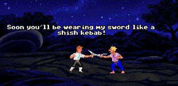 Monkey Island - duel d